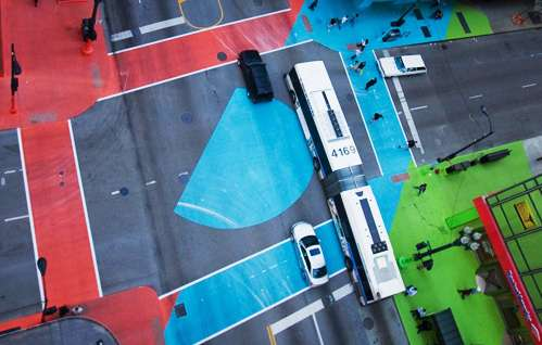 Chromatic Car Intersections