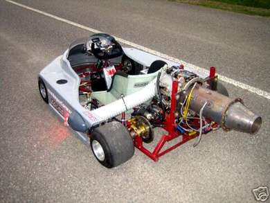 Jet Powered Go Kart on eBay
