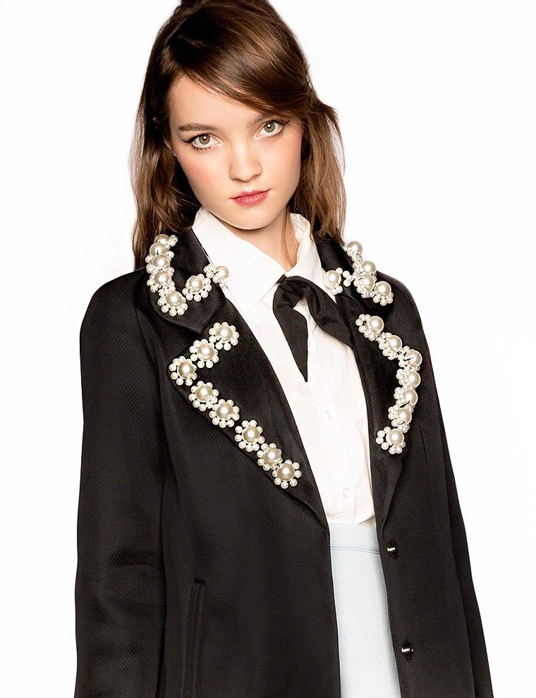 Jewel Collar Jackets
