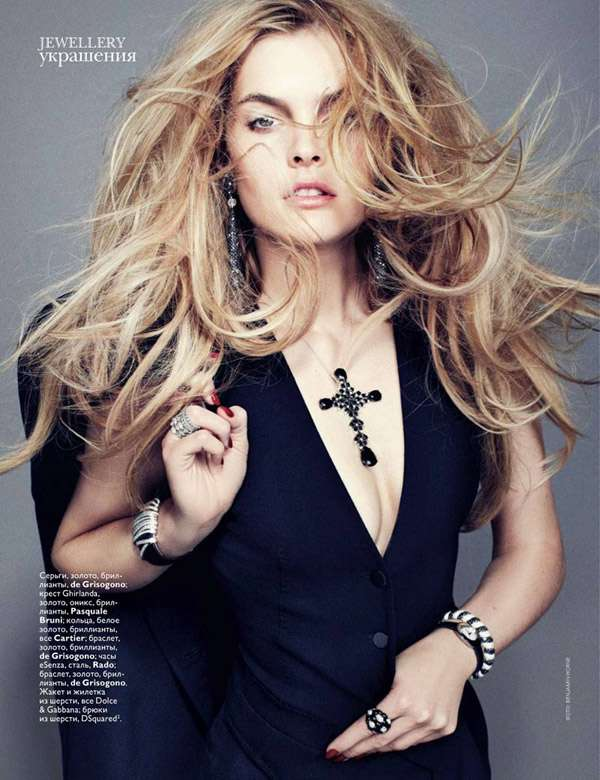 Jewellery Vogue Russia August 2010