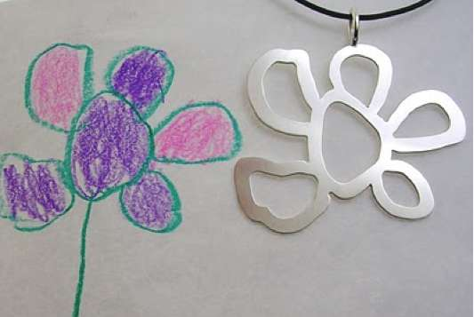 jewelry designed by your child