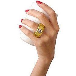 Fake Diamond Ring Mugs