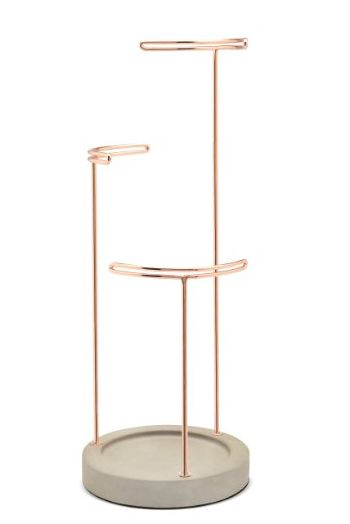 Copper Jewelry Stands