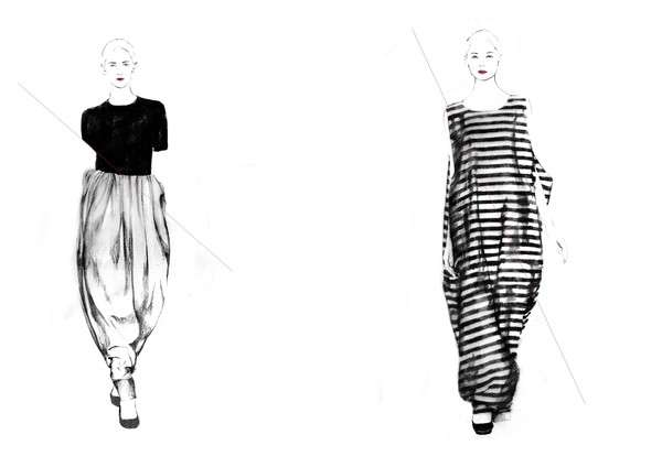 Fashion Illustration Lookbooks