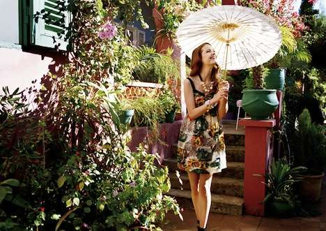Pretty Parasol Photoshoots