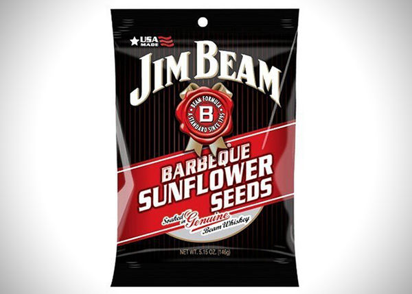 Bourbon-Infused Sunflower Seeds