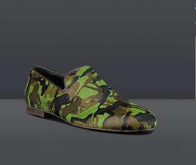 Burlesque Camouflage Footwear