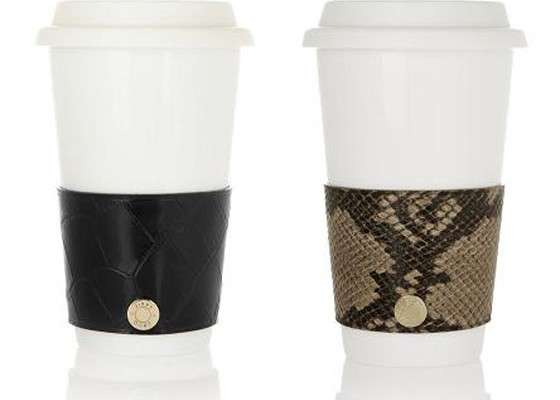 Jimmy Choo Coffee Cup Sleeve