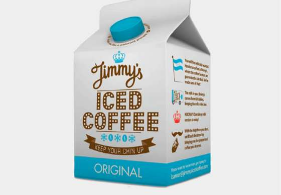 Jimmy-s Iced Coffee Packaging