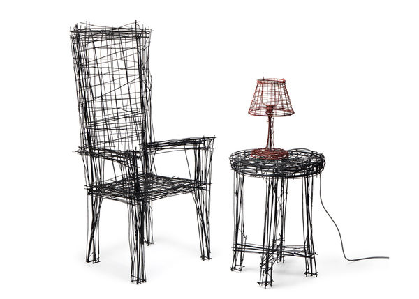Sketchpad-Inspired Furniture Sets
