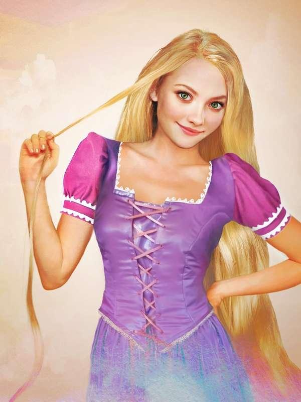 Realistic Disney Princess Portraits