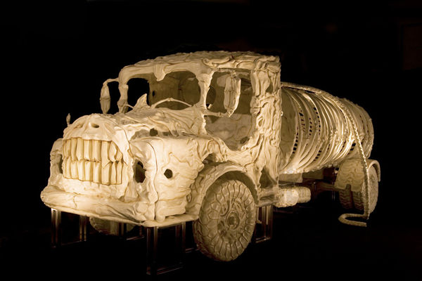 Skeletal Automotive Sculptures