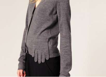 JNBY Finger Pocket Cardigan
