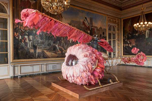 Mostra di Joana Vasconcelos alla Reggia di Versailles