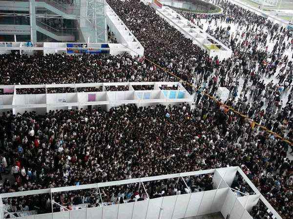 Job Fair in China