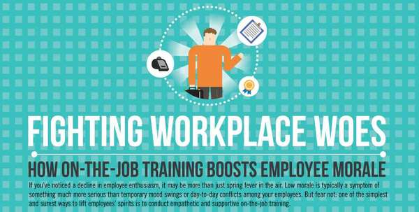 job training infographic