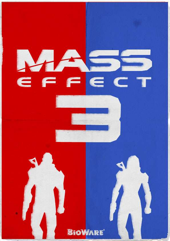 Video Game Propaganda Posters
