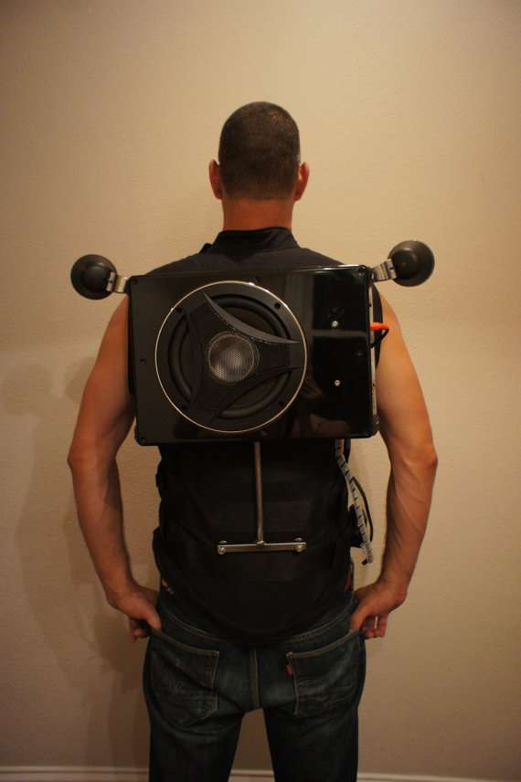 Wearable Boombox Vests