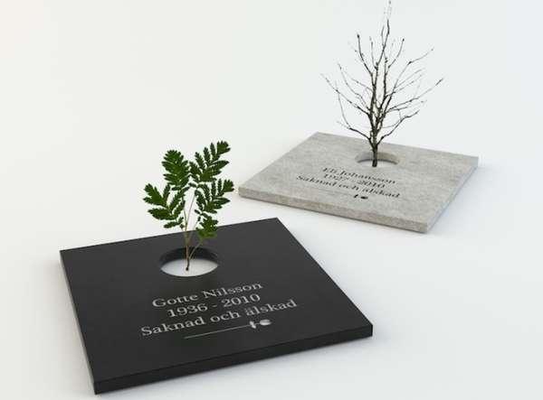 Floral Gravestones