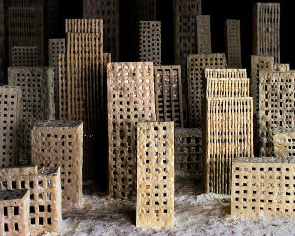 Molding Bread Dioramas