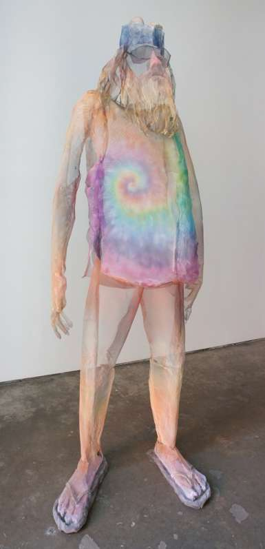 Ethereal Mesh Sculptures