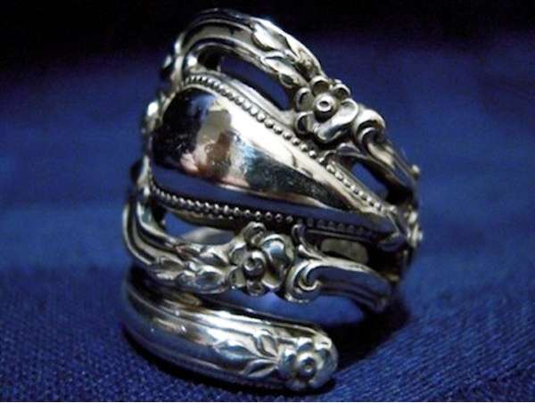 Antique Silverware Jewelery