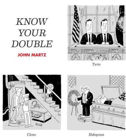 Comical Doppelganger Depictions