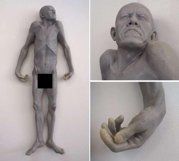 Ground Bone Sculptures