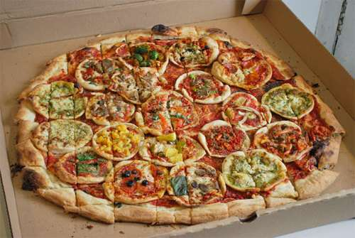 Multi-Pizza Pizzas
