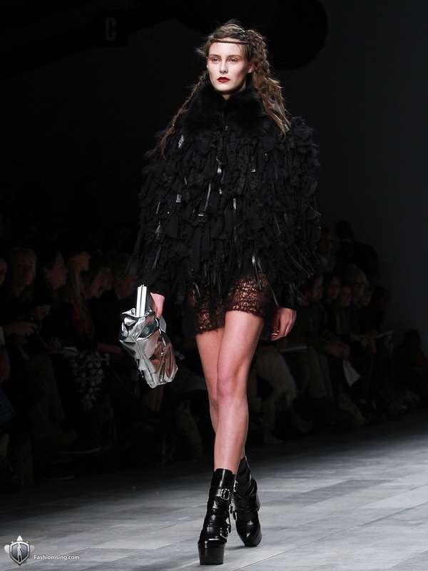 Frothy Gothic Fashion