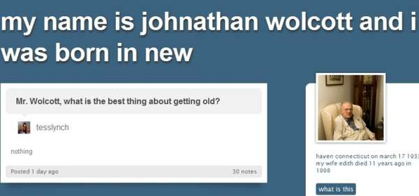 Johnathan Wolcott Tumblr blog