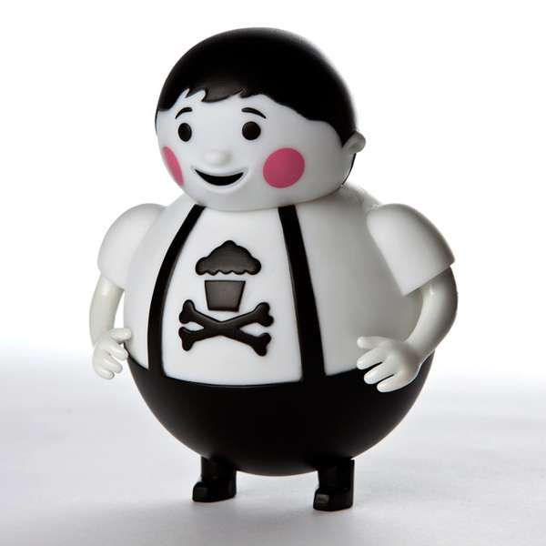 Confectionery Crossbone Figures