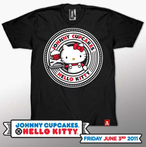 Johnny Cupcakes x Hello Kitty Shirts