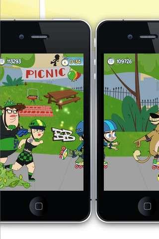 Screen-Sharing Skating Games