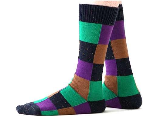 Villianous Comic Book Socks