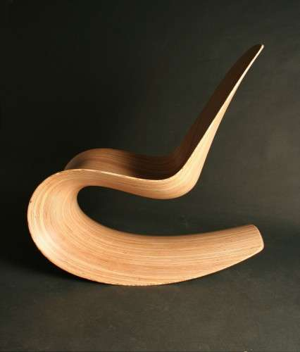 Sculpted Wood Seating