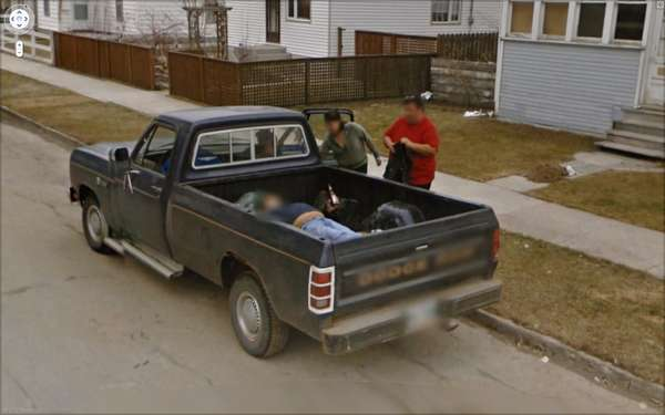 Bizarre Google Street Views