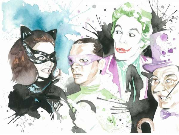 Villainous Watercolor Visuals