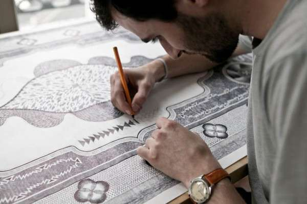 Intricate Carpet Illustrations