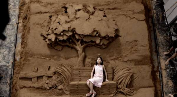 Supersized Sand Sculptures