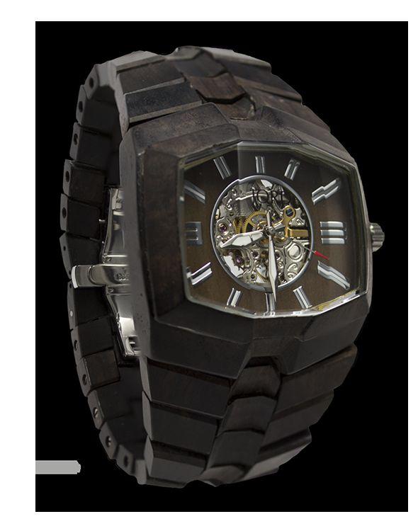 Sleek Wooden Wristwatches