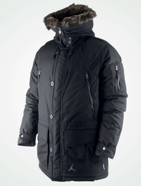 turtleneck winter jackets jordan brand snorkel parka
