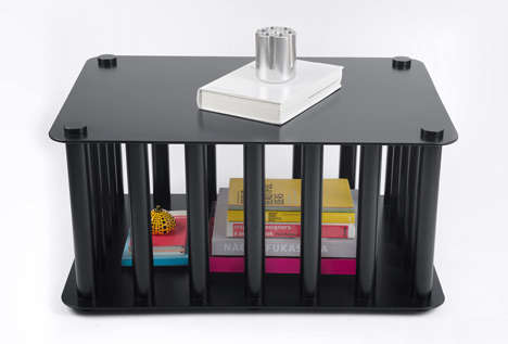 Cage-Like Coffee Tables
