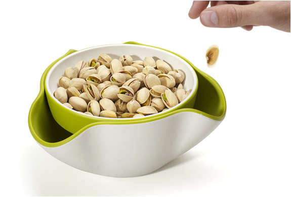 Double Dish Snacking Bowls