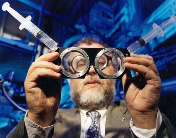Water-Filled Eyeglasses