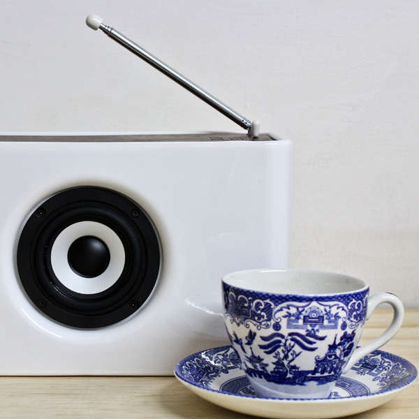 Polished Porcelain Music Players