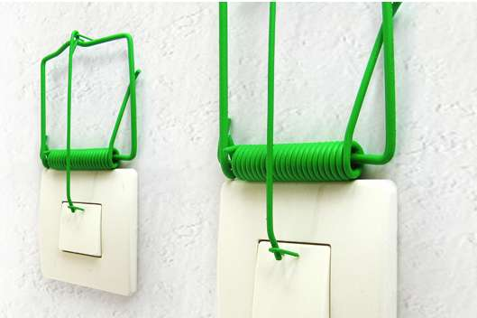 Mousetrap Light Switches