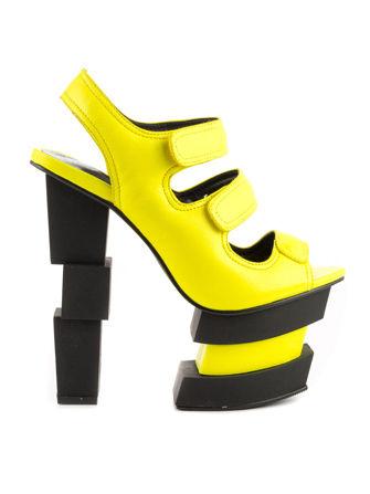Glitchy High Heels