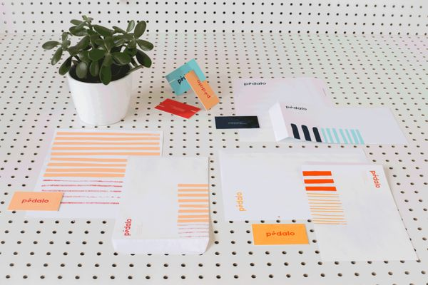 Simple Polka Dot Branding
