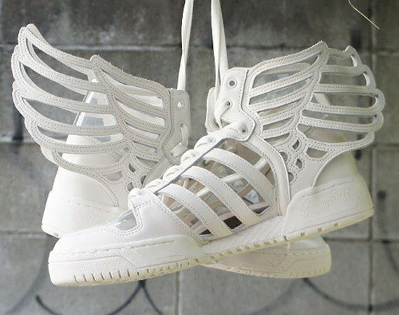 Angelic Feather Sneakers